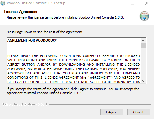 Voodoo RPA Orchestrator Installation Step - 1