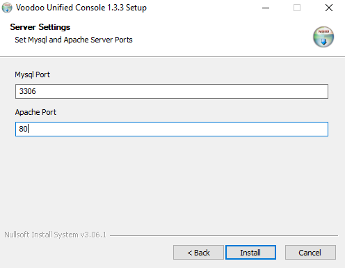 Voodoo RPA Orchestrator Installation Step - 3