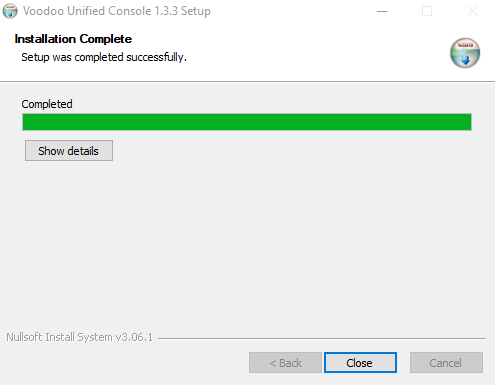 Voodoo RPA Orchestrator Installation Step – 4