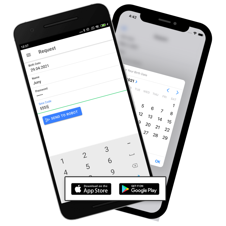 Voodoo RPA Voodoo Connect IOS and Android Apps